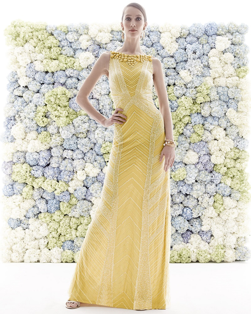 TheiaDeco Sequin & Beaded Gown