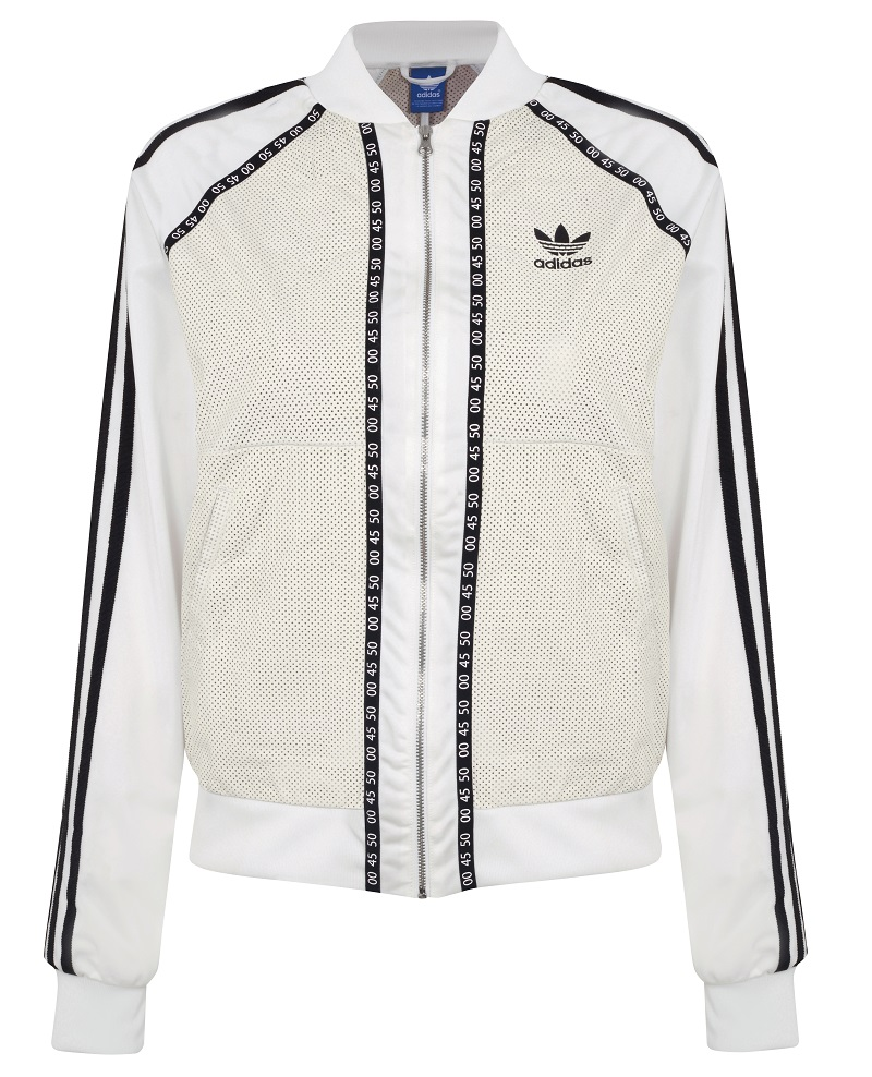 Topshop x adidas Originals Premium Superstar Track Jacket_