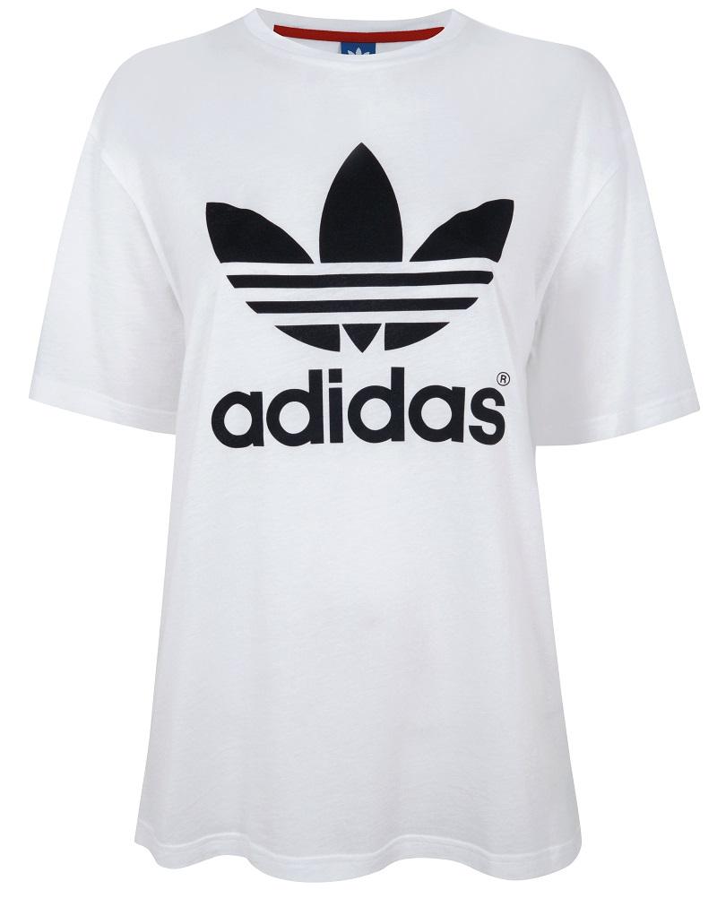 Topshop x adidas Originals Trefoil Tee_