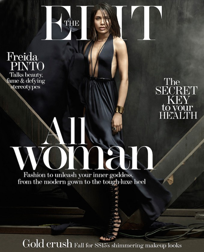 Woman Of Now: Freida Pinto for The EDIT