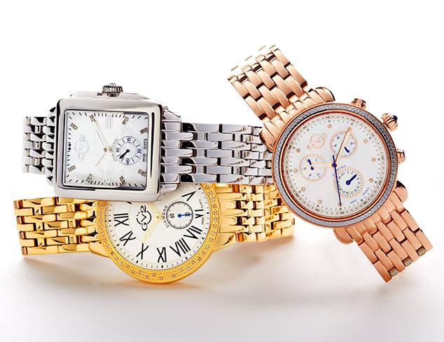 90% Off: GV2 Diamond Watches at MYHABIT