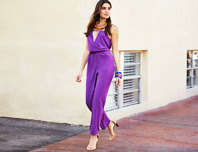 Purple Rompers And Jumpsuits