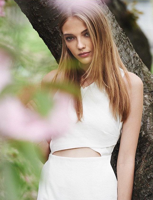 Apiece Apart Viotia Crisscross Dress