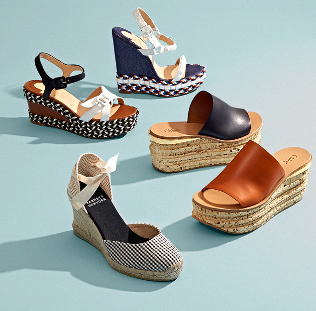 Barneys New York Arya Wedge Espadrilles
