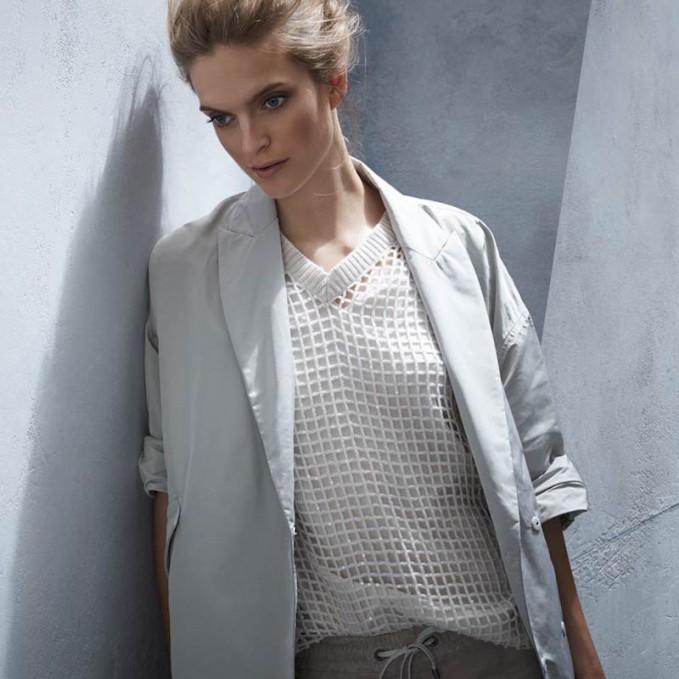 Brunello Cucinelli Sequin Knit Cashmere Pullover Sweater