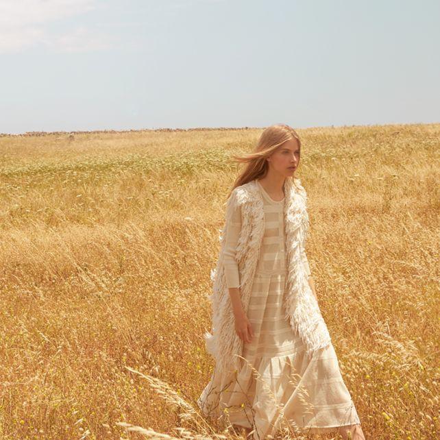 Burberry Prorsum Knitted cotton dress