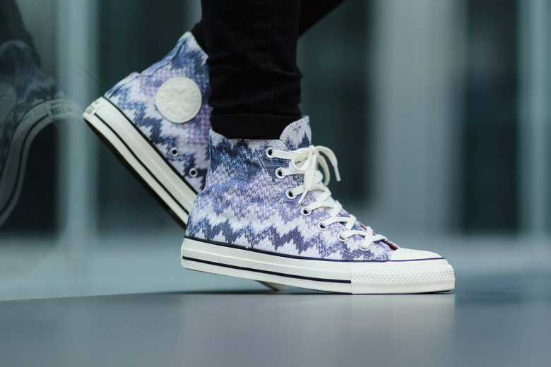Converse X Missoni Chuck Taylor All Star high-top sneakers-1
