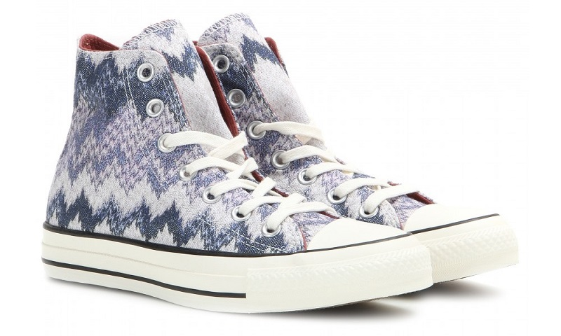 Converse X Missoni Chuck Taylor All Star high-top sneakers