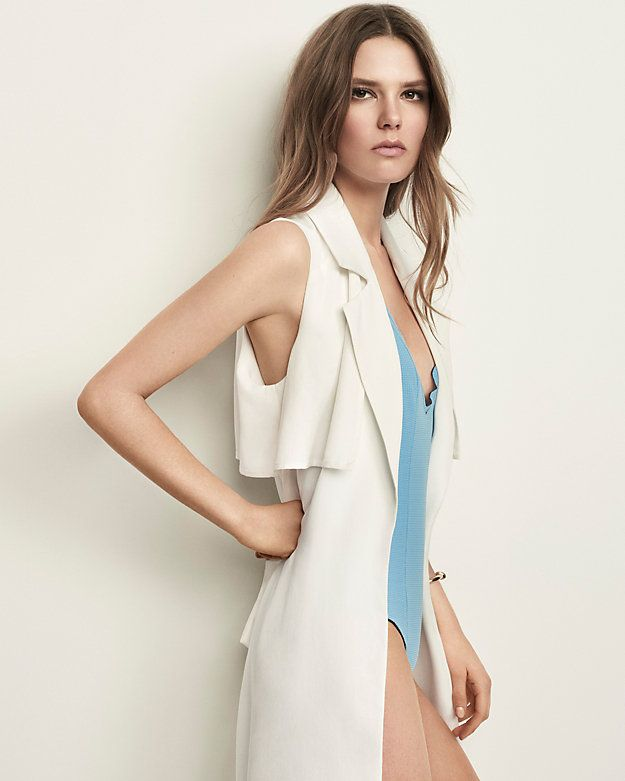 Exclusive for Intermix Sleeveless Trench Vest