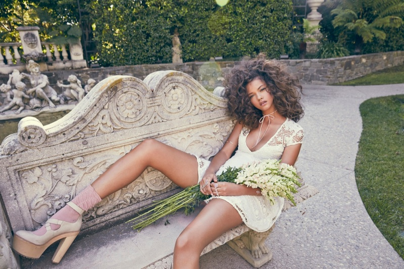 For Love & Lemons Summer 2015 Lookbook Feat. Marina Nery_10