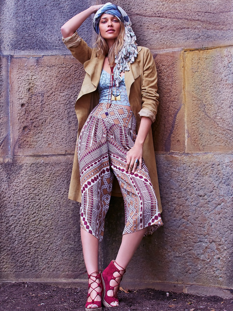 Peruvian Trek Lookbook At Free People Feat Ana Beatriz