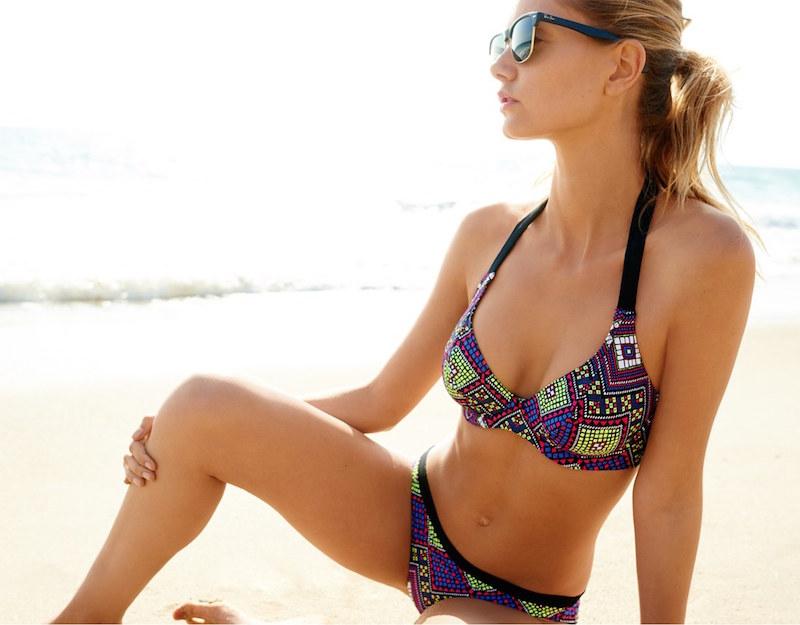 Freya Byzantine Banded Underwire Halter Bikini Top