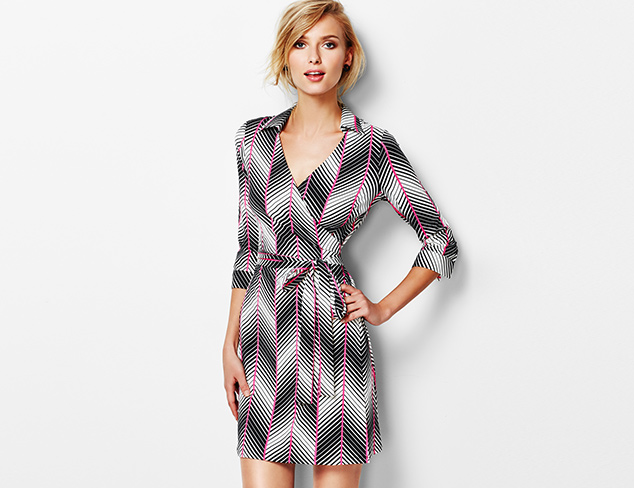 Iconic Silhouette: The Wrap Dress at MYHABIT