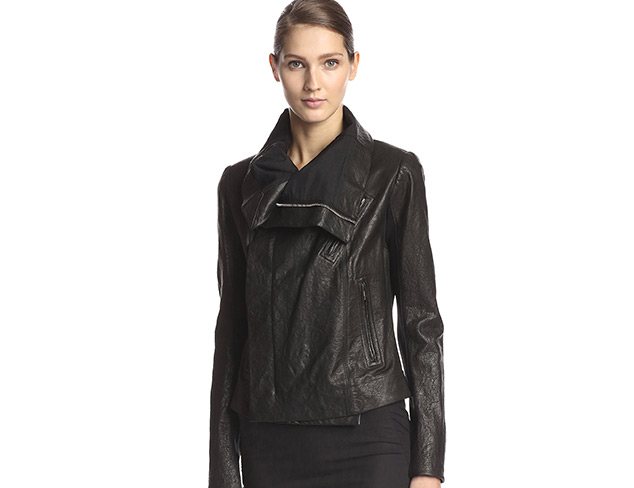 Investment Piece: The Leather Jacket at MYHABIT