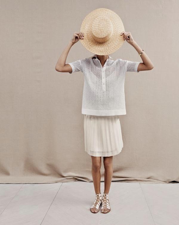 J.Crew Stitched-down Pleated Mini Skirt