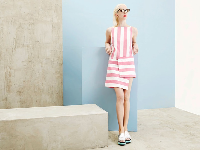 Jacquemus Parasol Carre dress