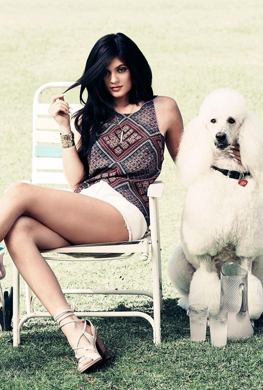 Kendall & Kylie Racerback Tulip Tank Top
