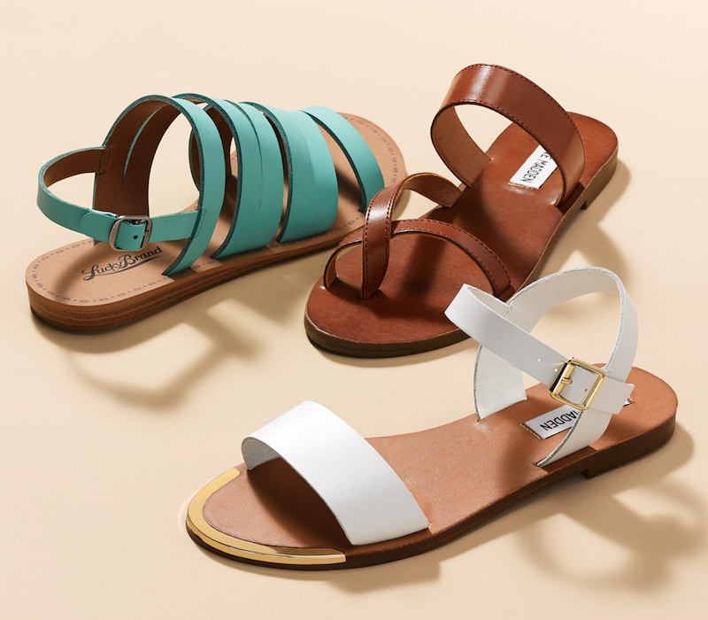 Lucky Brand Fairwayy Leather Slingback Sandal