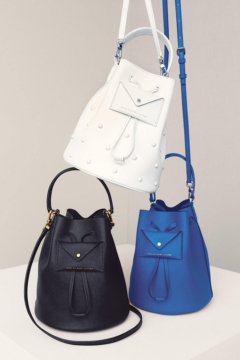 MARC BY MARC JACOBS Metropoli Leather Bucket Bag