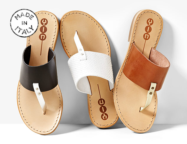 Made In Italy Yin Sandals at MYHABIT
