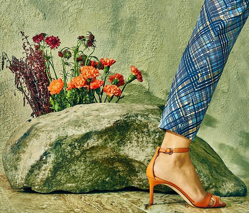 Manolo Blahnik Callre Ankle-Strap Sandals