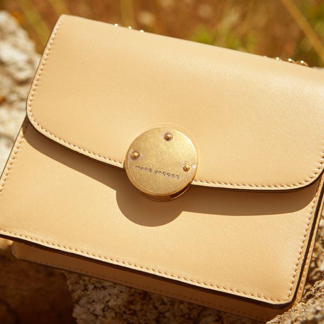 Marc Jacobs Mini Trouble leather shoulder bag