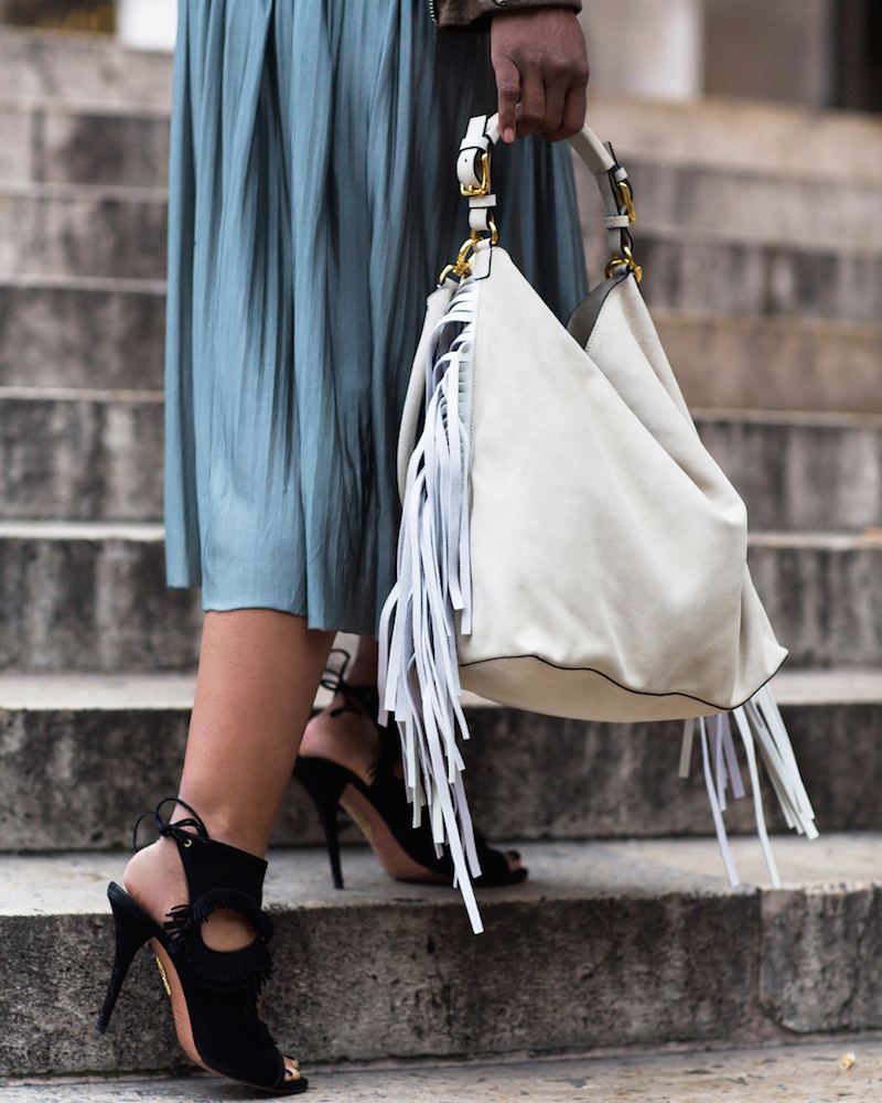 Marni Fringed Hobo