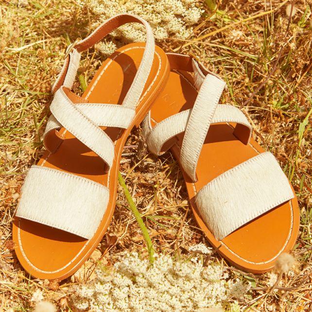 Marni Pony hair sandals