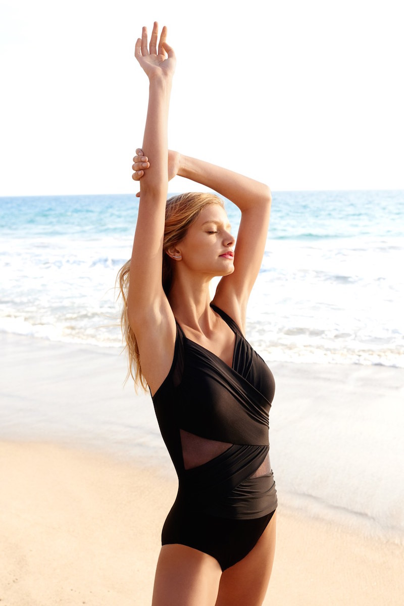 Miraclesuit Madero Mesh Inset One-Piece Swimsuit