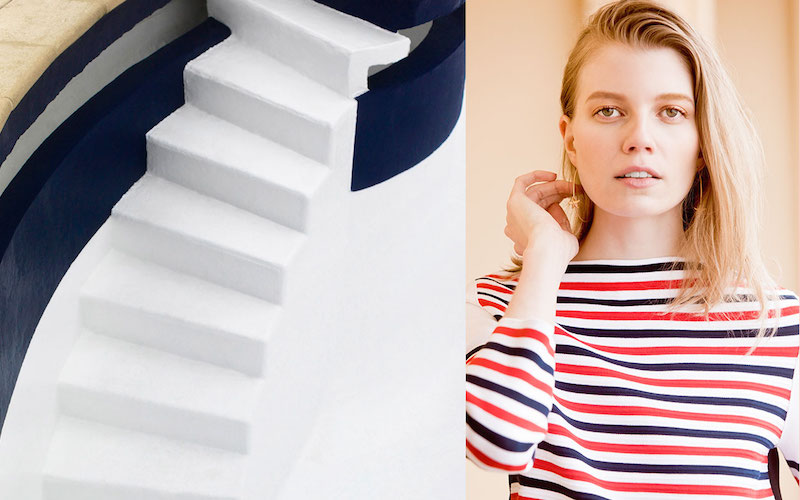 Sonia Rykiel Striped Midweight Sweater