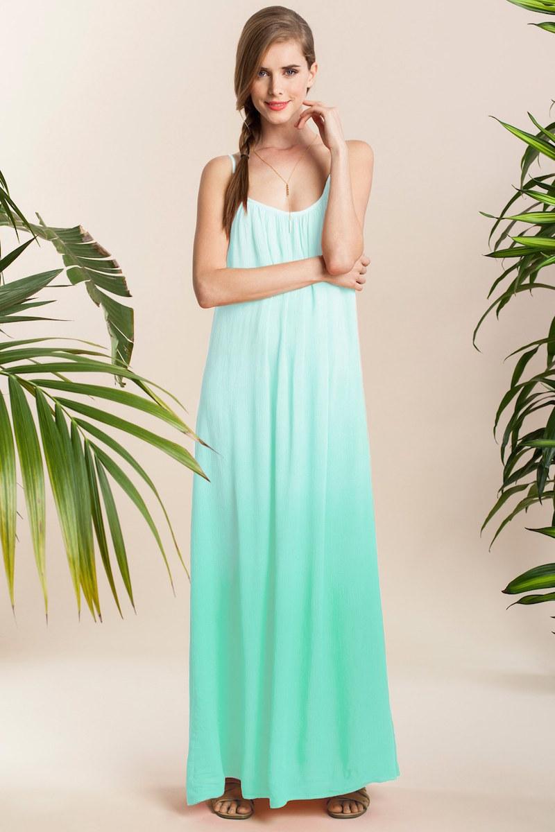 Splendid Ombré Maxi Dress