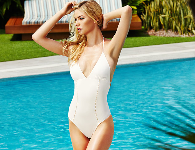 Sunny Outlook: One-Piece Swimsuits at MYHABIT