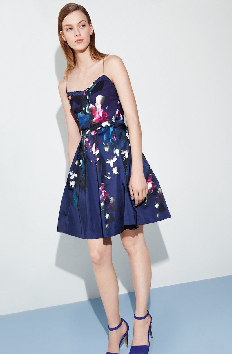 Ted Baker London Cynaria Floral Print Camisole