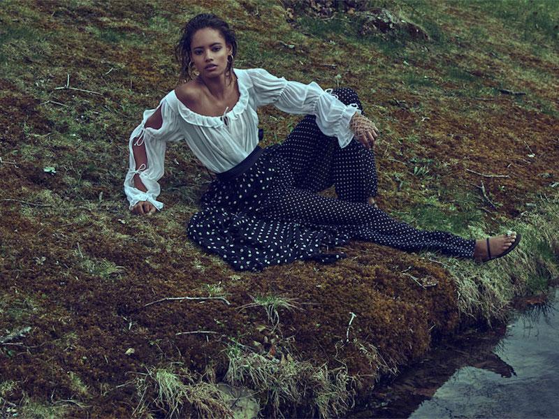 Thakoon Layered Silk-georgette Wide-leg Pants