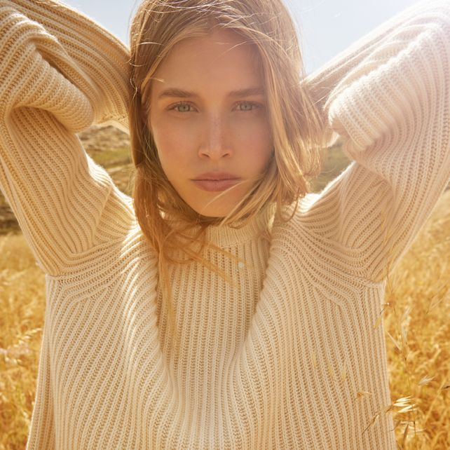 The Row Finn cashmere and silk sweater