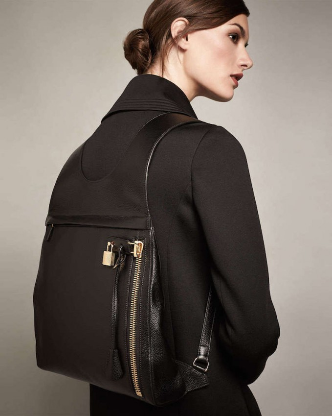 Tom Ford Alix Calfskin Small Backpack