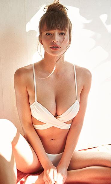 Tularosa Double Cross Bikini Top