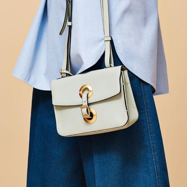 Valentino Eye On You Leather Shoulder Bag