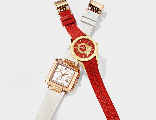 Versace & Ferragamo Watches at MYHABIT