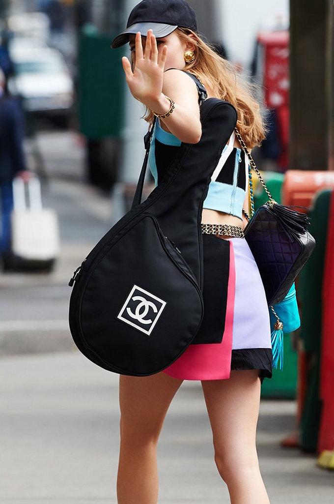 What Goes Around Comes Around Chanel Diamond CC Bag
