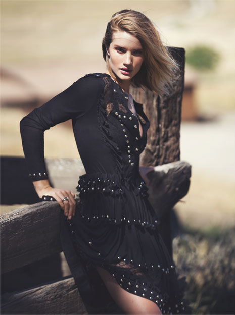 Wild Rosie Rosie Huntington-Whiteley for The EDIT_7