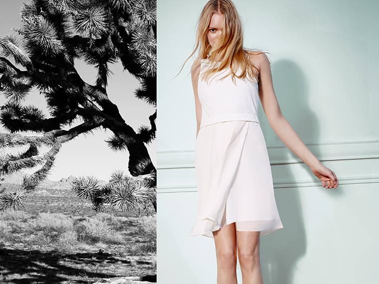 BCBGeneration Jacquard Bodice Dress