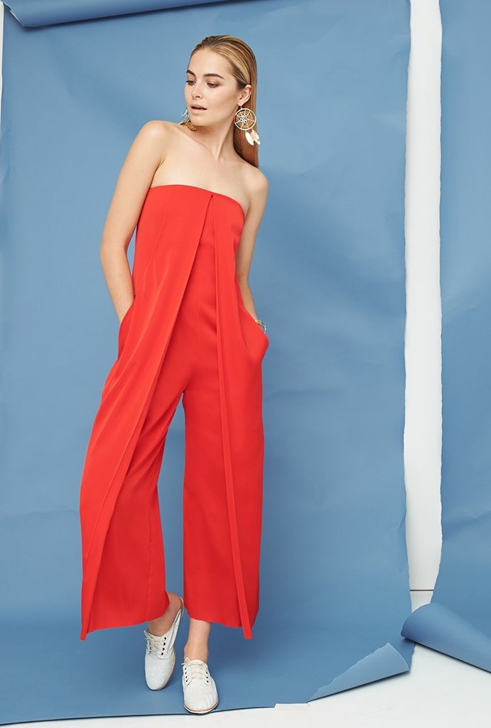 Cedric Charlier Sleeveless Jumpsuit