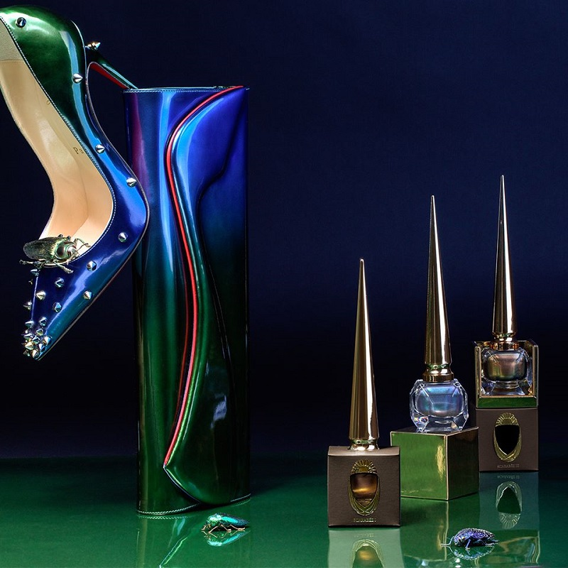 Christian Louboutin Limited Edition Scarabee II Violet Blue Nail Colour-1