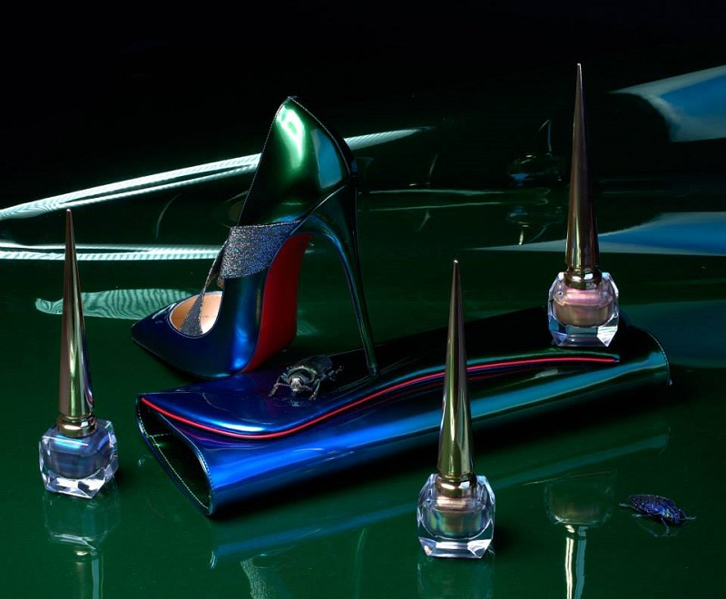 Christian Louboutin Limited Edition Scarabee II Violet Blue Nail Colour-2