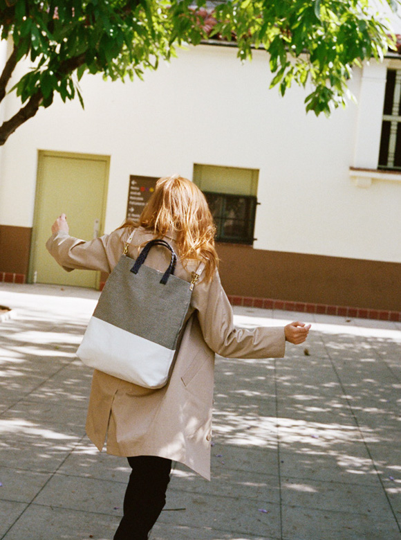 Clare V. Mathilde Backpack