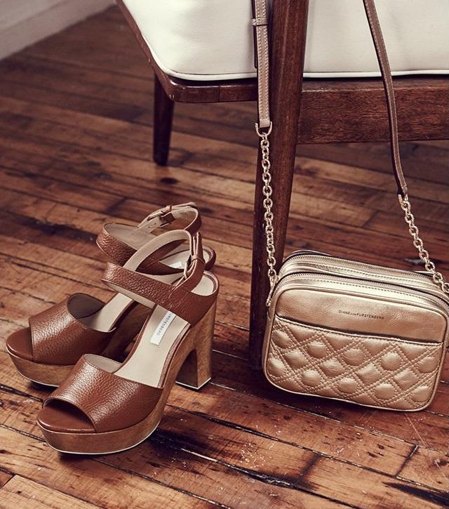 Diane von Furstenberg Tiber Too Clog Sandals