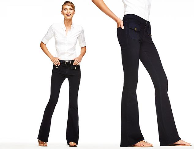 FRAME DENIM 4-Pocket Wide-Flare Jean