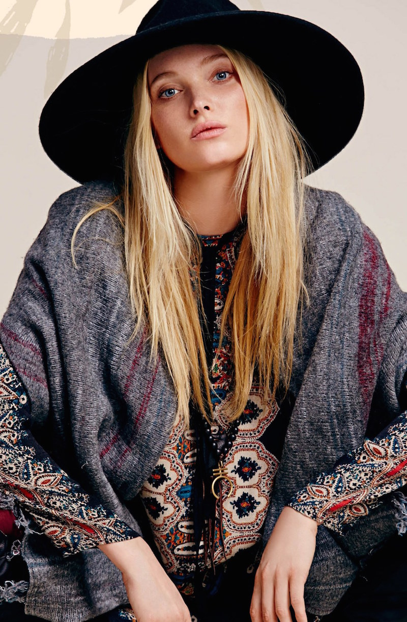Free People Blanket Sweater Coat