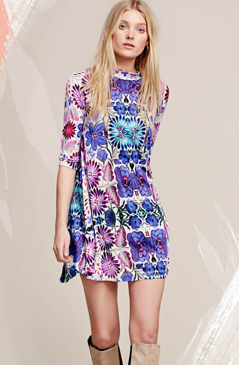 Free People Fiesta Floral Dress